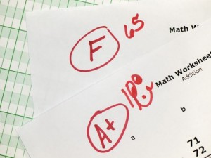 feedback and grades are not necessarily the same thing