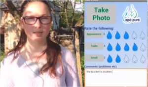 A group of young women from Moldova, in Eastern Europe, built a crowd-sourcing app to help residents of their country access safe drinking water sources. In a country with a high rate of water-borne Hepatitis A, this app has the potential to make an enormous difference in the countrys public health.